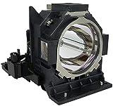 Supermait DT01731 Lámpara Bulbo de repuesto para proyector con carcasa Compatible con Hitachi CP-HD9320 / CP-HD9321 / CPHD9320 / CPHD9321