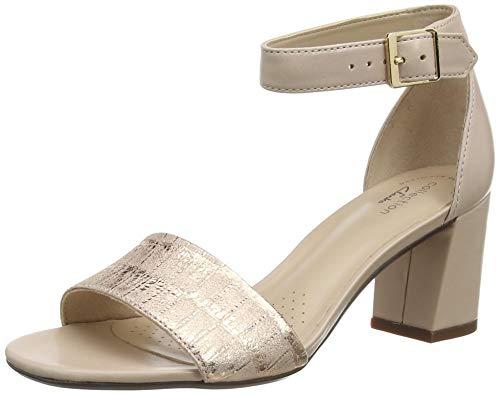 Clarks Damen Jocelynne Cam Pumpe, Dusty Rose Interest Leather,38 EU