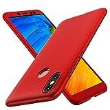 ORETECH Funda Xiaomi Redmi Note 5, Carcasa Redmi Note 5 Case Cover 360 Grados con [2 x Cristal...