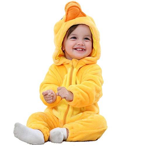 Alberta Pijamas Universal Pijamas Baby Robe Baby Snowdler Animales Juega Pijamas de Dibujos Animados Lindo Vestidos en Robas Monos