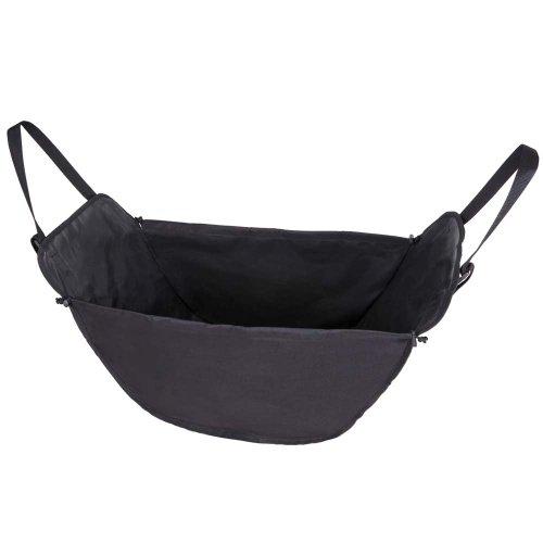 ナポレックス 車用 収納バッグ 純正感覚 ハンモックバッグ2 ブラック 大容量 簡単取付 前席と後席のヘッド...