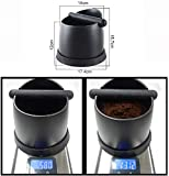 DEVITOR Espresso Coffee Knock Box, Shock-Absorbent Durable Barista Style Knock Box With Removable Knock Bar and Non-Slip Base