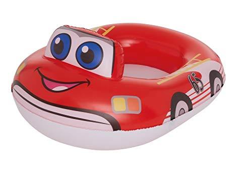 Lively Moments - Barco Hinchable para niños, diseño de Coche de Bomberos