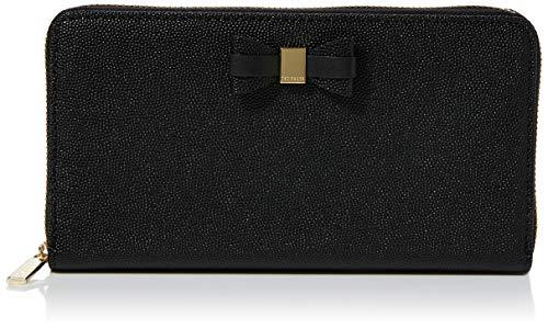 Ted Baker Women's AUBRIEE Travel Accessory-Bi-Fold Wallet, Black, One Siz