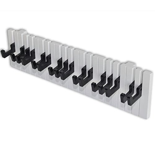 Kapstok met keyboard ontwerp (16 haakjes)