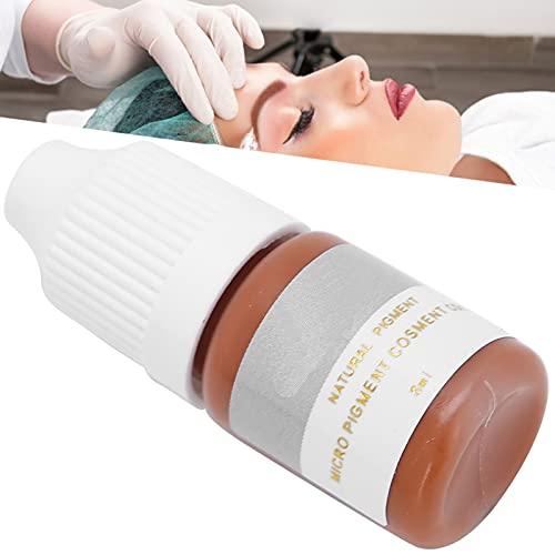 Inchiostro per Tatuaggi per Sopracciglia, Trucco per Principianti Accessori per Pigmenti per Microblading per Eyeliner per Ombreggiatura delle Sopracciglia (8 Ml)(#5)