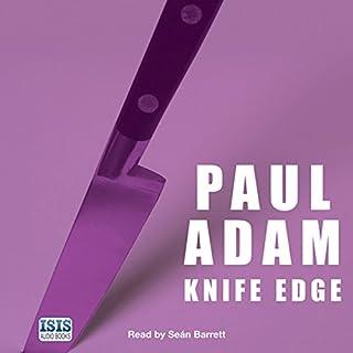 Knife Edge audiobook cover art