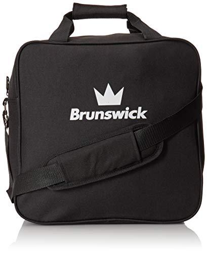Brunswick Tzone Single Tote Bowling Bag, Black