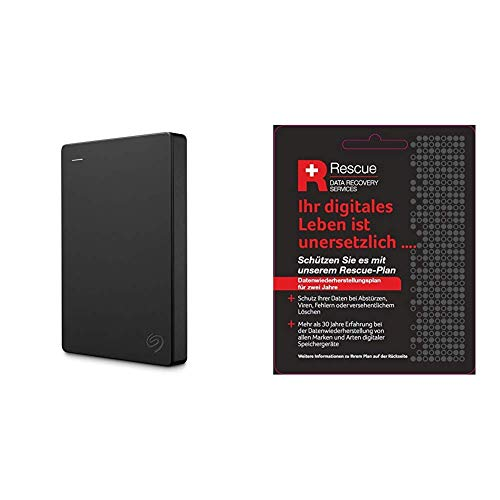 Seagate Expansion Amazon Special Edition 1 TB Externe tragbare Festplatte (6,35 cm(2,5 Zoll) + Datenrettungs Service tragbare Externe SSD (6,3 cm(2,5 Zoll) USB-C, USB 3.0, PC und Mac)