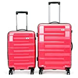 360° Silent Spinner Multidirectional Luggage For Men and Women 2 Piece Luggage Nested Set with TSA Lock 20in 24in Spinner Travel Luggage Trolley Cases Suitcase Ha