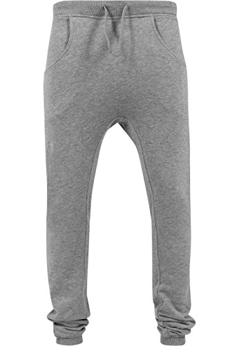 Urban Classics Deep Crotch Sweatpants Men characoal - S