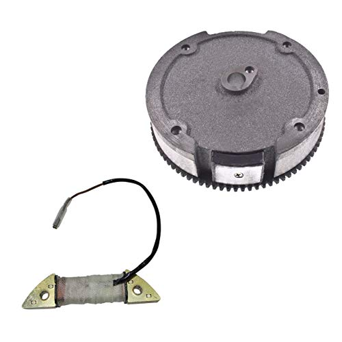 Supermotorparts GX160 GX200 5.5HP 6.5HP Flywheel Ring Gear With Magnets Charging Coil For Honda