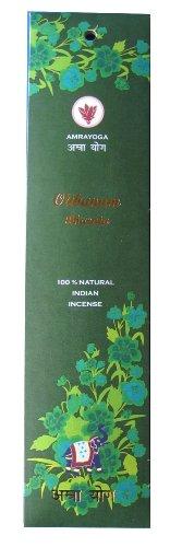 Olibanum BHARATA - 21 Stck indische Premium Räucherstäbchen, Marke: Amrayoga