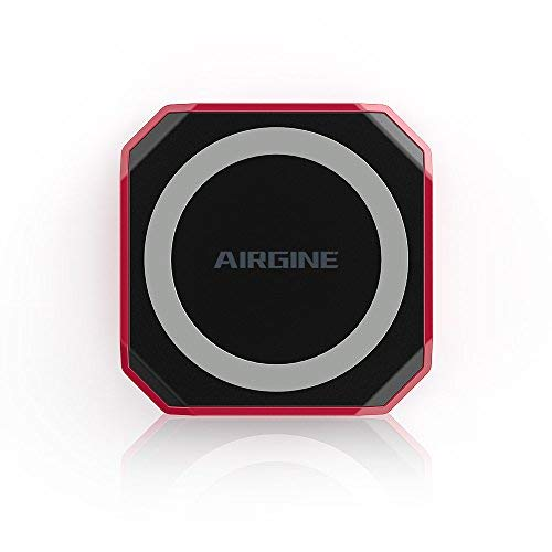 Wireless Charger,AIRGINE Qi-Certified Fast Charger 7.5W Wireless Charger for iPhone X, iPhone 8/8 Plus, Samsung S9/S9+/S8/S8+/S7/Note 8 and All Qi-Enabled(NO AC Adapter)