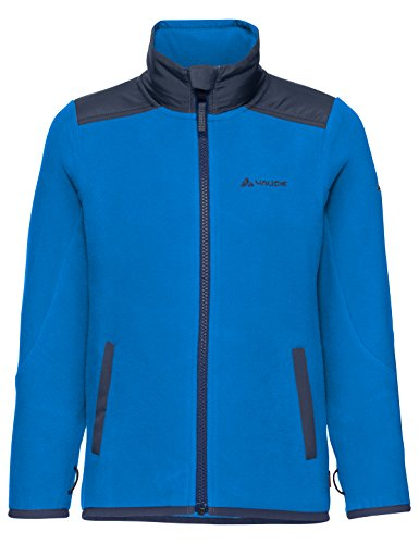 VAUDE Kinder Jacke Racoon Fleece Jacket, radiate blue, 110/116, 40641