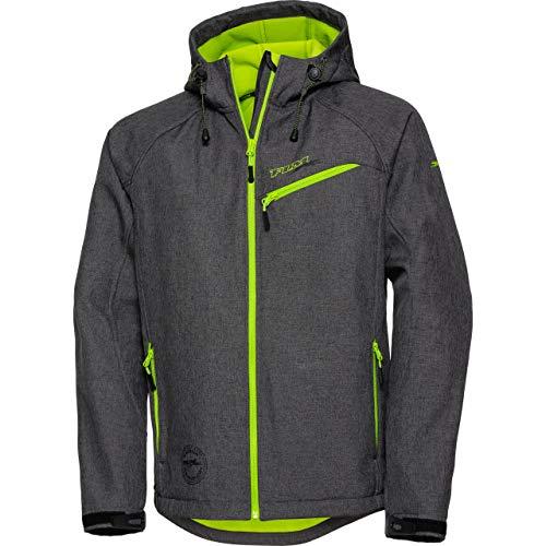 FLM Softshell Jacke, Softshelljacke, Funktions-Jacke Softshelljacke 2.0 grau M, Herren, Casual/Fashion, Winter, Textil