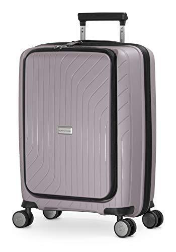 HAUPTSTADTKOFFER - TXL - Equipaje de Mano liviano, maletín con Compartimiento para portátil, Trolley rígido de Polipropileno Resistente, 55 cm, 40 L, Cierre TSA, Argento Vintage
