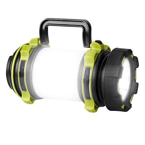 Lymty Lampe de Camping LED,Lanterne Camping Rechargeable 1800mAh, Lampe Torche LED Puissante,Etanche pour Bricolage, Randonnée,Garage, Secours,Cave,Pêche