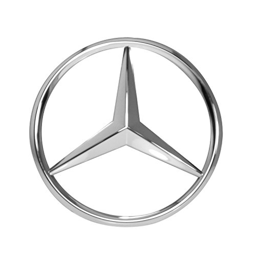 Mercedes-Benz Chrome Front Grill Star Emblem for C-Class, E-Class