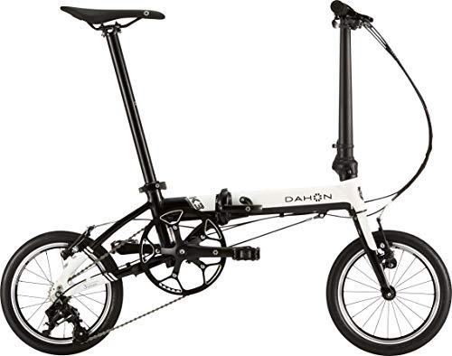 ダホン(DAHON) K3 3段変速 折りたたみ自転車 19K3WHBK00 ホワイト/ブラック