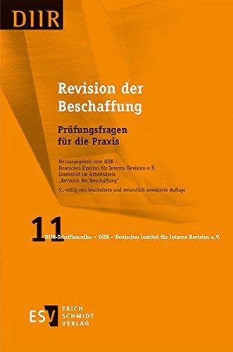 Revision der Beschaffung: Prüfungsfragen für die Praxis (DIIR-Schriftenreihe, Band 11)