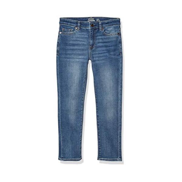 Amazon Essentials Boys' Kids Stretch Slim-fit Jeans