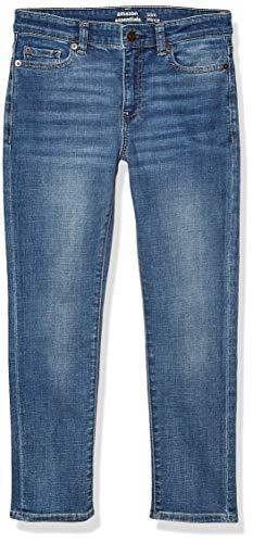 Amazon Essentials Boys' Slim-Fit jeans, Doppler/Light Wash