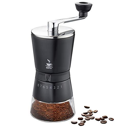 GEFU 16331 Kaffeemühle SANTIAGO – Barista Erlebnis für Zuhause