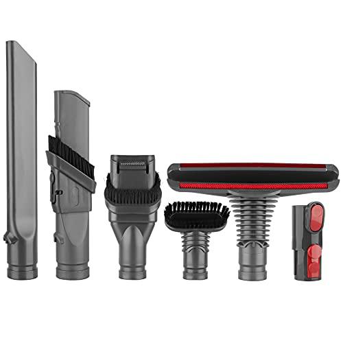 Brosse Kit Accessoires pour Dyson V8 V7 Aspirateur avec Adaptateur,Total Clean Pièces pour Dyson V6 DC45 DC35 DC52 DC29 DC62 DC33 DC34 etc
