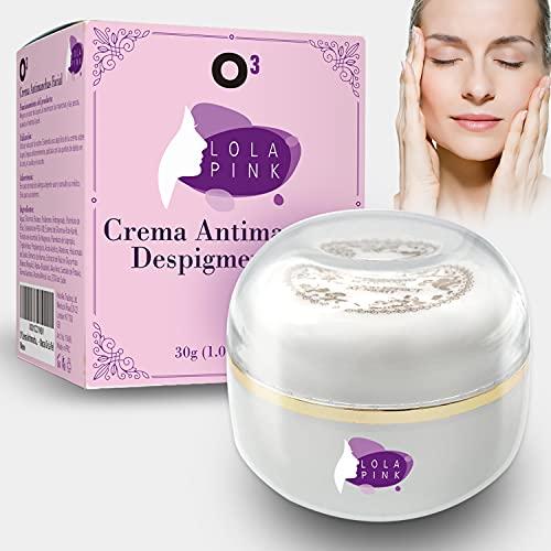 O³ Crema Antimanchas Facial 30 g – Cosmética Anti-Manchas | Despigmentante Facial Para La Cara – Crema Blanqueadora Quita Manchas Facial – Imperfecciones – Marcas De La Piel