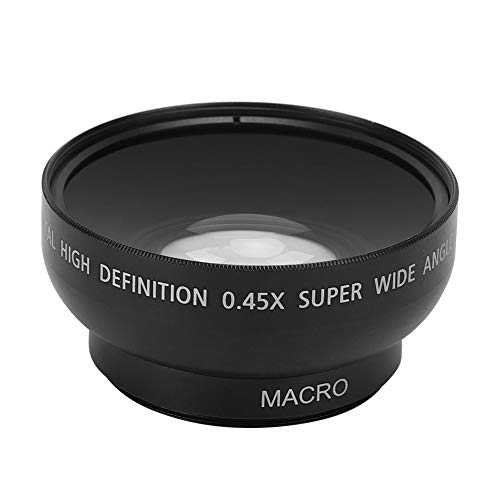 46mm 0.45X Wide Angle Macro Lens, Professional HD Wide Angle Lens, for 46MM Diameter Camera Lenses