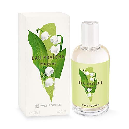 Yves Rocher LA COLLECTION Eau Fraîche Maiglöckchen, erfrischendes Bodyspray für Frauen und Mädchen, 1 x Zerstäuber 100 ml