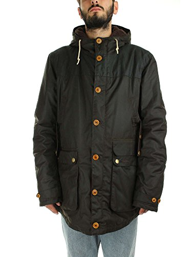Barbour Game Parka Olive Marrone