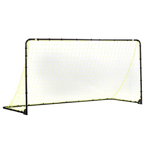 Franklin Sports Premier Steel Soccer Goal - Folding Backyard...