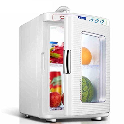 JCOCO Réfrigérateur pour voiture 25L Car Home À double usage Mini Incubateur à froid et à chaud Réfrigérateur à domicile Chambre à coucher Réfrigérateur Mini réfrigérateur