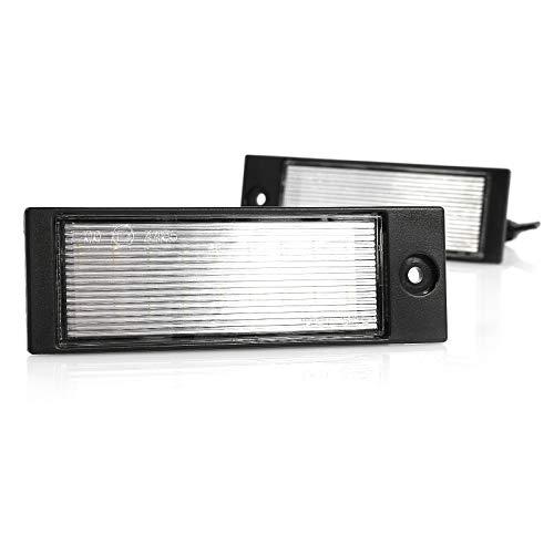 Éclairage de plaque minéralogique à LED Plug & Play Canbus avec homologation E