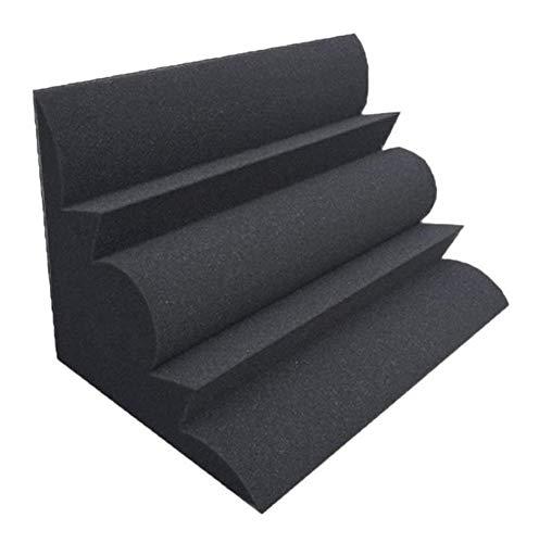 WENWEN Schwarz Wohnzimmer Decken Schallabsorbierende Baumwolle, Bar Club Acoustic Panels Innenwand Schallabsorbierende Baumwolle