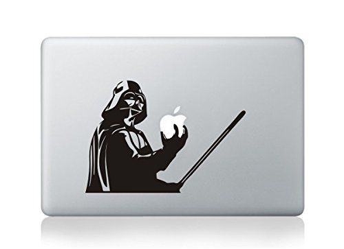 MacBook Darth Vader with Lightsaber Apple logo Vinyl Decal Sticker For MacBook Pro/Air 13'