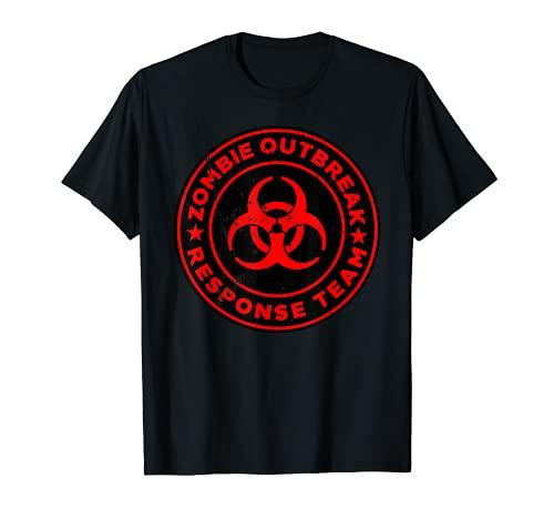 Zombie Outbreak Response Team funny Zombie Apocalypse T-Shirt