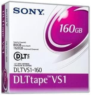 Sony DLTVS1-160 DLT VS1 80/160GB, 160/320GB Data Tape Cartridge for DLT VS160/V4 Drives by Sony