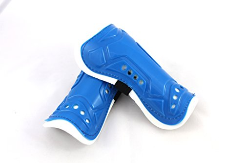 Qornerstone Childrens Protective Shin Guards - Durable, Lightweight, and Breathable Padding - Great...