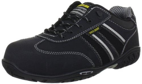 Safety Jogger Lauda Unisex-Erwachsene Sicherheitsschuhe, Schwarz (schwarz), EU 42