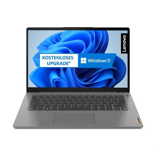 Lenovo IdeaPad 3i Laptop 35,6 cm (14 Zoll, 1920x1080, Full HD, WideView, entspiegelt) Slim Notebook (Intel Core i3-1115G4, 8GB RAM, 256GB SSD, Intel UHD-Grafik, Windows 10 Home S) grau