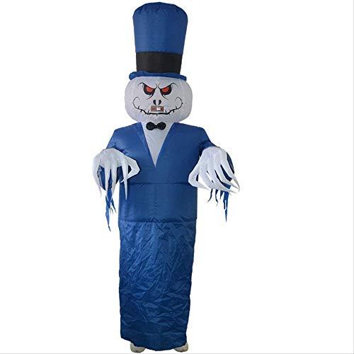 1yess Partido Entero de Halloween Traje del Diablo Bar Parodia del Partido del Fantasma de Halloween Traje Inflable de la casa encantada Complementos Disfraz