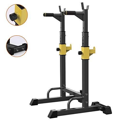 Aparato Sentadillas Press banca Estante Barra Fitness