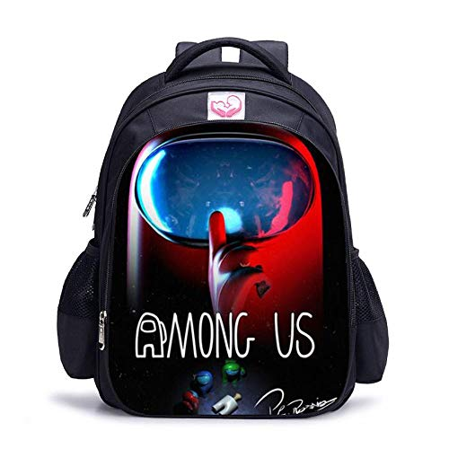 Among Us Backpack, Load-reducing School Bag, Backpack Support Customized pictures-15