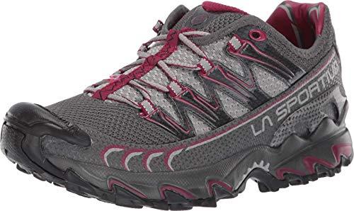 La Sportiva Ultra Raptor Women's Running Shoe, Carbon/Beet, 39.5