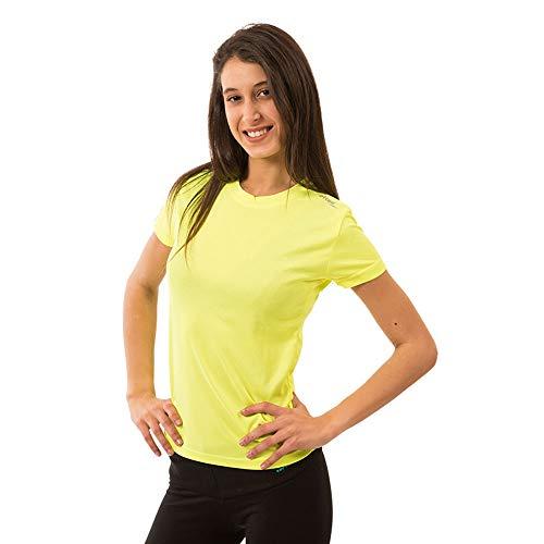 Softee T-Shirt pour Femme XS Jaune