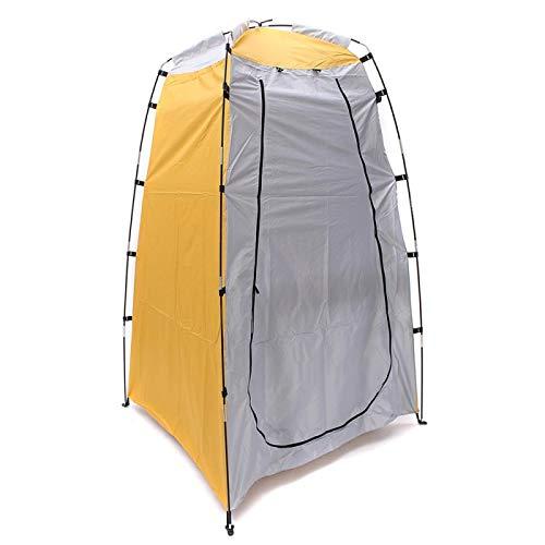 Tienda de campaña portátil para privacidad, protección solar UV nominal Upf 50+ refugio solar, impermeable, resistente al viento, ligero, para la familia, camping, picnic