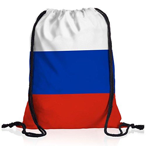 style3 Rusia languidecer Bandera del país Nacional Bolsa Mochila Bolsos Unisex gymsac